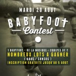 BabyFoot Contest-1