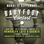 BabyFoot Contest