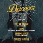 Samedi 19 avril 2014 - Discover